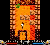 Indiana Jones and the Infernal Machine Game Boy Color Entering in a cave. What secret will be here?