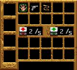 Indiana Jones and the Infernal Machine Game Boy Color Pause the game and the item select screen appears. Choose the yours!