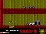 Rambo III ZX Spectrum Game start