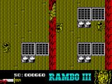 Rambo III ZX Spectrum Moving upwards