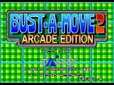 Bust-A-Move 2: Arcade Edition Nintendo 64 Title screen.