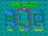 Bust-A-Move 2: Arcade Edition Nintendo 64 Mode selection.