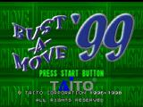 Bust-A-Move 3 Nintendo 64 Title screen.