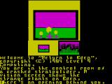 Return to Eden ZX Spectrum Starting position