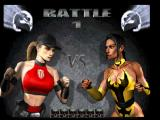 Mortal Kombat 4 PlayStation VS screen