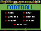 Ultimate Soccer Manager 2 DOS Teletext brings you information of all leagues.