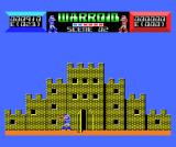 Warroid MSX Fighting in a castle