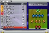 Premier Manager 2005-2006 Game Boy Advance Selecting the team