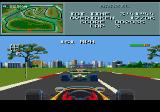 Formula One Genesis Arcade mode is all about overtaking and driving cleanly