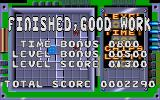 Chip's Challenge Atari ST Points bonus screen