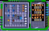 Chip's Challenge Atari ST The central blue blobs are teleports