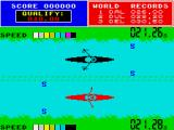 Daley Thompson's Super-Test ZX Spectrum He's ahead