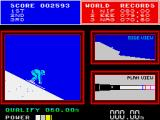 Daley Thompson's Super-Test ZX Spectrum On th ski jump runway