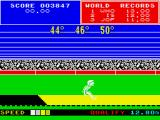 Daley Thompson's Super-Test ZX Spectrum Good angles, but the run-up isn't fast enough