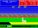 Daley Thompson's Super-Test ZX Spectrum The measurement isn't in my favour