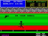 Daley Thompson's Super-Test ZX Spectrum Sprinting