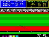 Daley Thompson's Super-Test ZX Spectrum And lands just short of the mark
