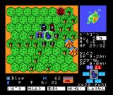 Master of Monsters MSX Choosing an adversary