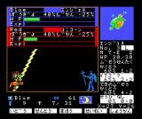 Master of Monsters MSX My angel electrocutes the red unicorn