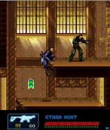 Mission: Impossible 3 J2ME Sneak up on enemies to save ammo.