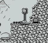 Sneaky Snakes Game Boy Stand on the scales to ring the bell and exit the level