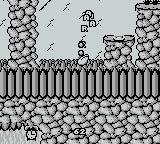 "Sneaky Snakes Game Boy Your snake will fall off screen with an ""AAARGH"" from an instant death"
