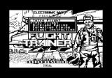 Chuck Yeager's Advanced Flight Simulator Commodore 64 Menu