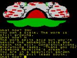 The Worm in Paradise ZX Spectrum It was all a dream