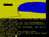 The Worm in Paradise ZX Spectrum Exploring