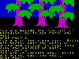 The Worm in Paradise ZX Spectrum In the forest