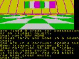 The Worm in Paradise ZX Spectrum The code to get to your habihome