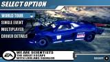 Burnout Legends PSP Main Menu