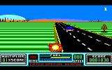 RoadBlasters Amstrad CPC Crashed