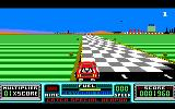 RoadBlasters Amstrad CPC Crossed the finish line