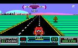 RoadBlasters Amstrad CPC Every now and then, a hovership gives you upgrades