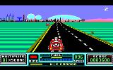 RoadBlasters Amstrad CPC Obtained an U-2 cannon