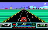 RoadBlasters Amstrad CPC Driving past a mine