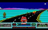 RoadBlasters Amstrad CPC Ran out of fuel