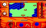 Indiana Jones and The Fate of Atlantis: The Action Game Amstrad CPC Indy encounters a tribesman