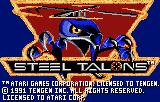 Steel Talons Lynx Title screen