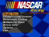 NASCAR Racing DOS Menu (SVGA)