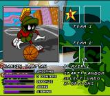 Looney Tunes B-Ball SNES Player Selection
