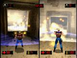 Duke Nukem: Time to Kill PlayStation Red vs Blue using pipe bombs in the mesa