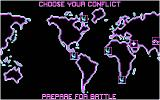 Fire and Forget DOS Peace is restored in several parts of the world (CGA).