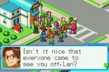 Mega Man Battle Network 6: Cybeast Gregar Game Boy Advance Everyone comes to say goodbye to Lan