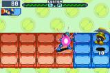 Mega Man Battle Network 6: Cybeast Gregar Game Boy Advance You can also charge your blaster for a more powerful shot