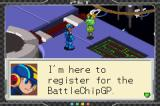 Mega Man Battle Chip Challenge Game Boy Advance Getting ready to register