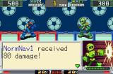 Mega Man Battle Chip Challenge Game Boy Advance The opponent is in trouble...