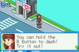 Mega Man Battle Network 6: Cybeast Falzar Game Boy Advance You'll be doing this a lot in the game.