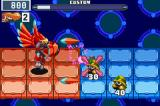 Mega Man Battle Network 6: Cybeast Falzar Game Boy Advance After a key event in the game, Mega Man can transform into the powerful Falzar
